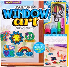 Made By Me Create Your Own Window Art by Horizon Group USA, Paint Your Own Suncatchers. Kit Includes 12 Pre-Printed Suncat...