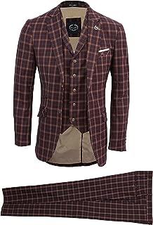 prince of wales check waistcoat