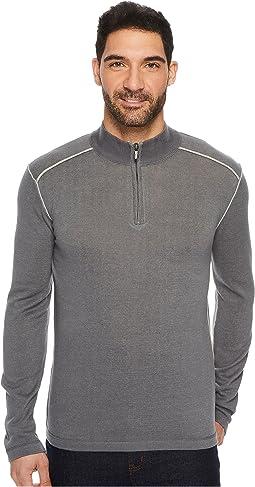 Noah Zip Neck Sweater