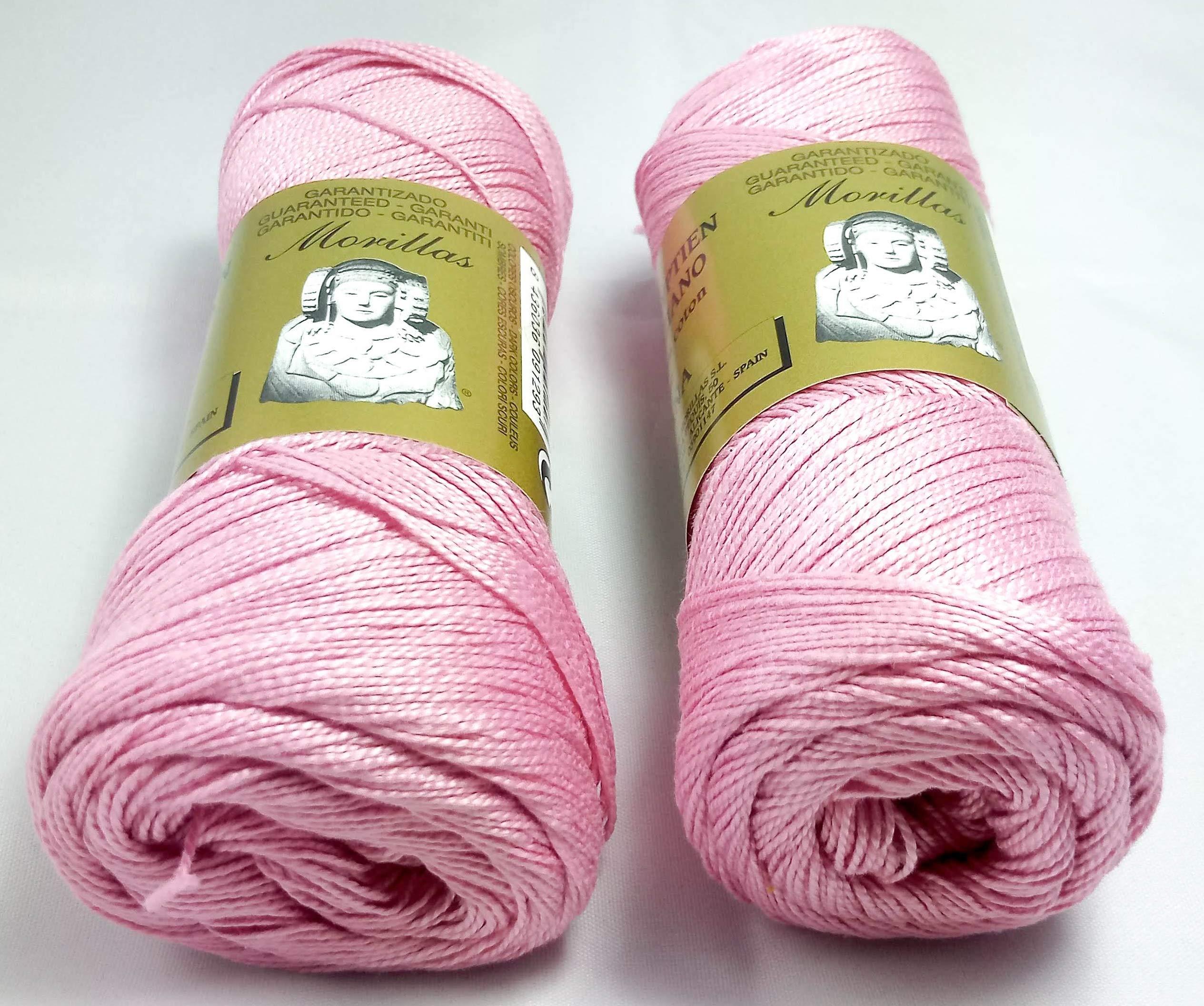 ▷ Pack de 2 Zepelines Ne 5/2 color rosa 37 de algodón perlé 100 ...