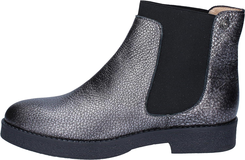 Liu Jo Boots Womens Leather Grey