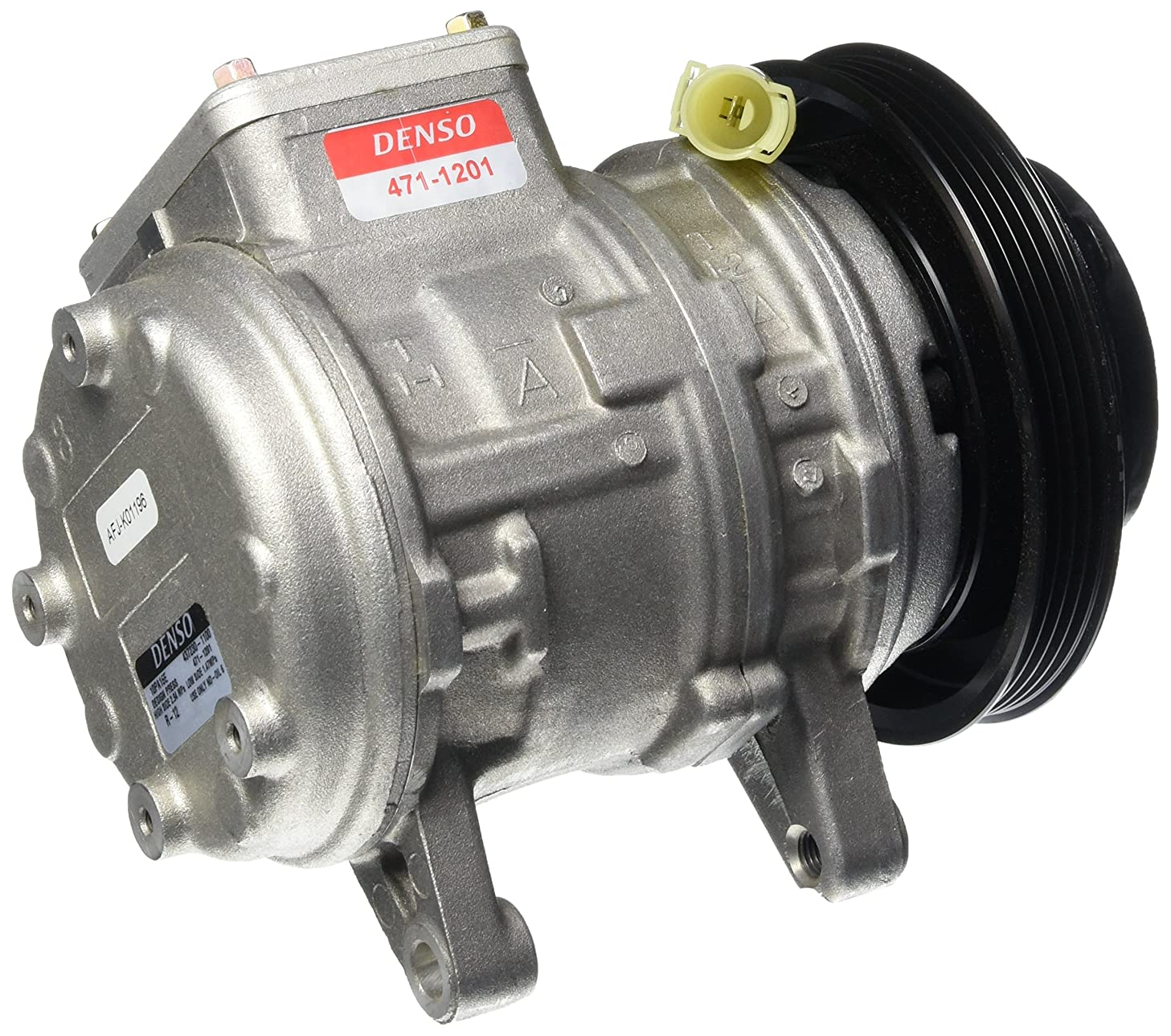 Denso 471-1201 New Compressor with Clutch