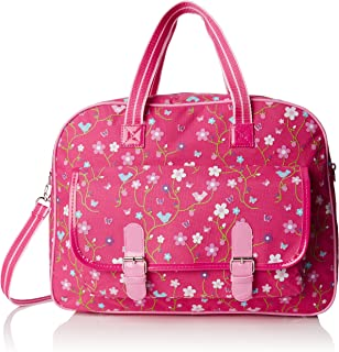 Pink Poppy Summer Song Carryall Bag (Hot Pink)