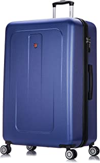 2019 NEW DUKAP Luggage Crypto Lightweight Hardside XL 32'' inches - Suitcases with Wheels Spinner