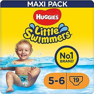 Huggies Little Swimmers Schwimmwindeln Gr.5/6 12 - 18 kg, 1 Packung mit 19 Stück