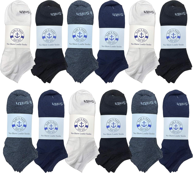 12 Pair Of BILLIONHATS Boy's and Girls Low Cut Ankle Socks, Thin Lightweight Breathable Wholesale Sport Bulk Socks, Size, 6-8