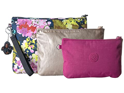 Cost For Sale Free Shipping Very Cheap Kipling Iaka Large Wristlet Luscious Flower Blue With Credit Card Free Shipping Huge Surprise Online zdRD8Migx