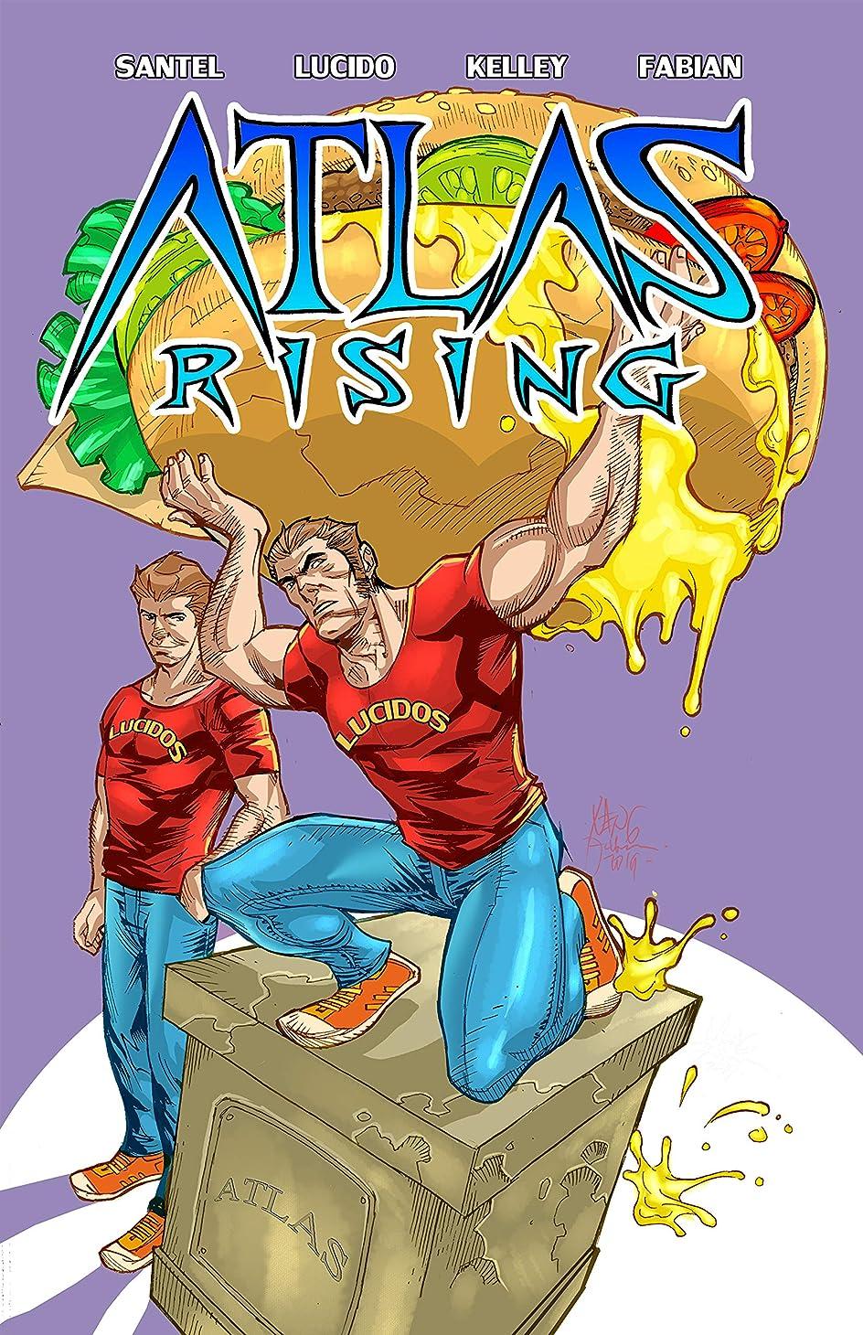 地中海不振無意識Randy Santel Presents: ATLAS RISING (English Edition)