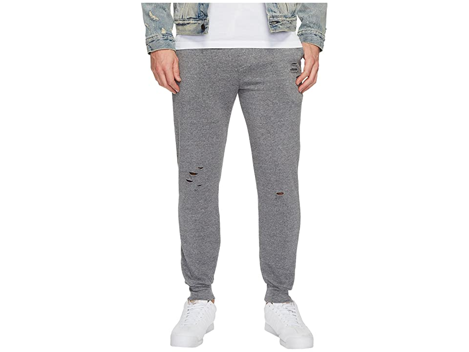 Alternative Super Distressed Eco Fleece Dodgeball Pants (Eco Grey) Men