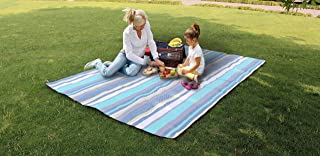 Travel RugExtra Large Camping & Picnic Blanket Rug Waterproof 300 x 200cm for Festival Beach Travel Camping Outdoor,Green/...