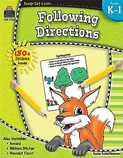 Ready-Set-Learn: Following Directions Grd K-1