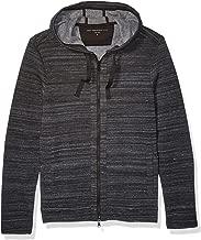 John Varvatos Star USA Men's Ls Fleece Back Full Zip Hood