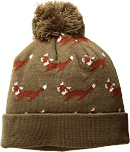 KNK3522 Fox Beanie (Little Kids/Big Kids)