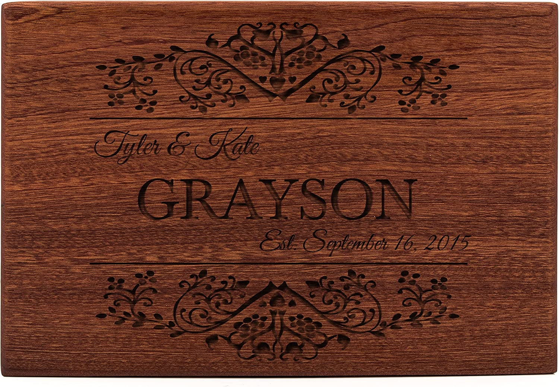 online shop Personalized Wooden Cutting Fashion Board 10 Des x Grayson Mahogany 15