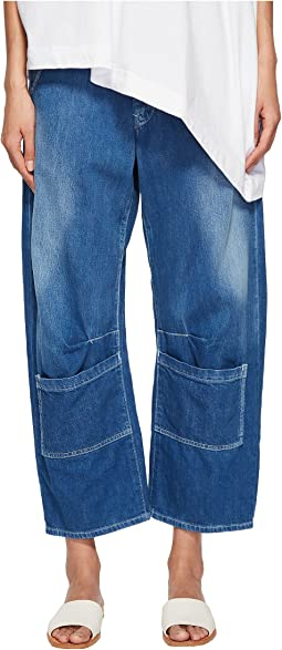 U-Gusset Wide PP Spotted Denim