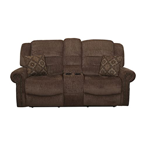 Dual Recliners With Console Amazon Com