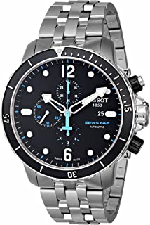 Tissot - Reloj de Hombre Seastar 1000 Auto Acero Inoxidable T0664271105700