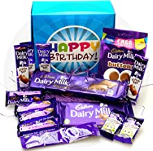 The Ultimate Cadbury Dairy Milk Chocolate Lovers Happy Birthday Gift Box - By Moreton Gifts - Dairy Milk Chocolate Bars, Buttons, Freddo, Hot Chocolate …