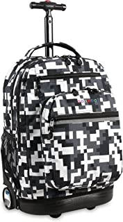 Sundance LAPTOP Rolling Backpack for Schooling & Travel, 20 inch