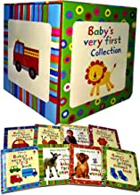 Usborne Babys Very First Collection 8 Books Set (First Outdoors Book, Animal Book, Colours Book, First 1.2.3 Book, Getting Dressed Book, Little Book of Baby Animals, Little Book of Baby Farm Animals,