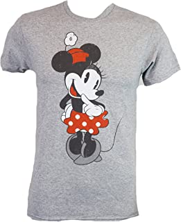 Best Shy Minnie Mouse Graphic Tee Classic Vintage Disneyland World Adult Tee Graphic T-Shirt for Men Tshirt Clothes Apparel Review