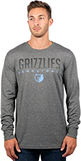 Ultra Game NBA Men's Active Long Sleeve Tee Shirt