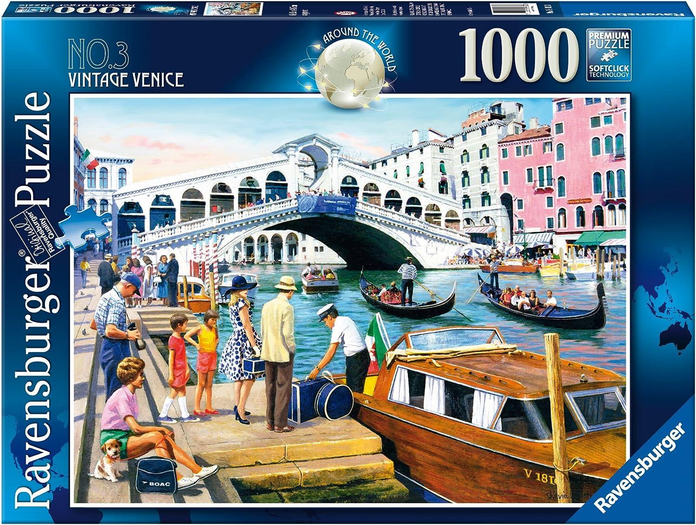 Ravensburger Around The World No. 3 Vintage Venice (1000 Pieces)