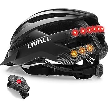 54-58 cm Livall Matte Black Size 54-58 Unisex Adult MT1 Bluetooth Headphones Black