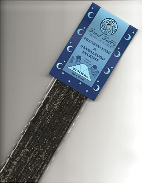 FRED SOLL S Resin ON A Stick Frankincense Sandalwood Incense 20