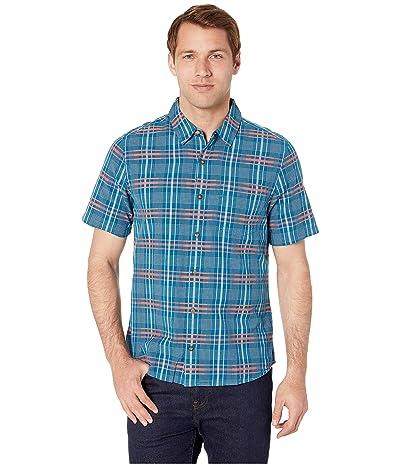 Toad&Co Airboat Short Sleeve Shirt (Poseidon) Men