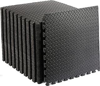 Puzzle Exercise Mat Foam Mats Extra Thick Interlocking Foam Floor Mats Large Gym Mat Exercise Mats Gym Flooring Floor Mat ...