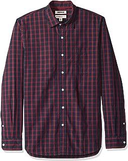 Amazon Brand - Goodthreads Men's Long-Sleeve Plaid Poplin Shirt
