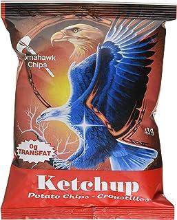 Tomahawk Ketchup Potato Chips, Ketchup, 43g