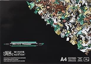 Winsor & Newton - Bloc de 50 hojas de papel para rotuladores, A4