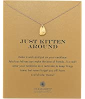 Dogeared - Just Kitten Around Reminder Necklace
