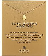 Dogeared - Just Kitten Around Reminder Necklace