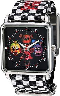 Five Nights at Freddy's Girls' Analog Quartz Watch with Plastic Strap, Multicolor, 13 (Model: FNF8000AZ)