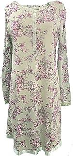 Bisbigli Camicia da Notte Manica Corta Modal con Pizzo Art 03491