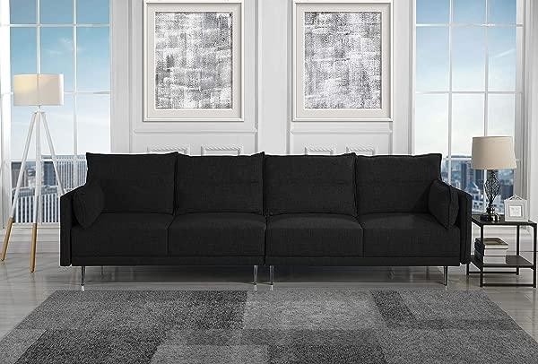 豪塞尔生活 HSL387 4S 沙发黑色