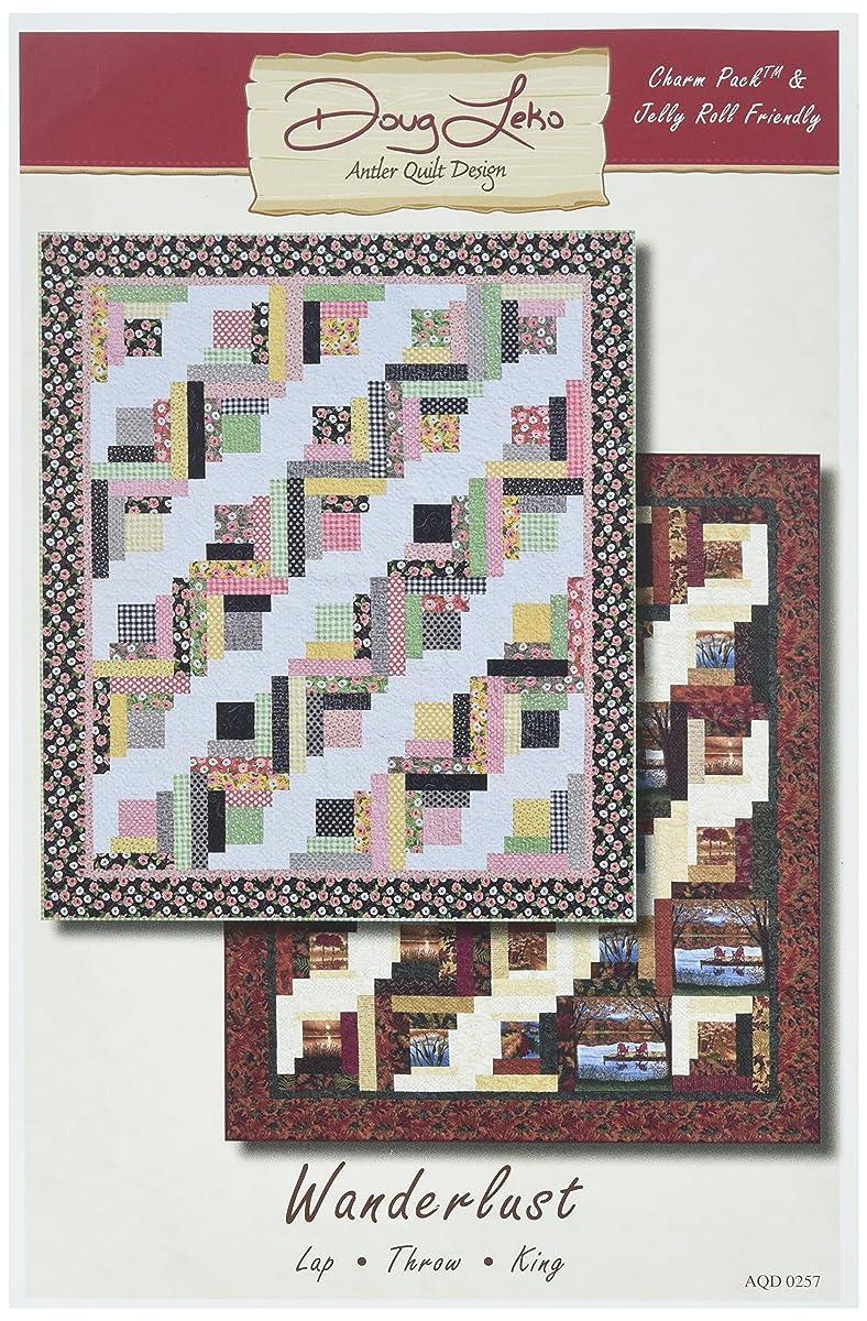 Antler Quilt Design AQD0257 Wanderlust Pattern