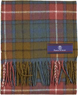 Prince of Scots Merino Wool Tartan Scarf