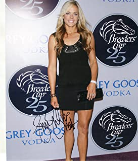 * JENNIE FINCH * Team USA Softball gold medal sexy signed 8x10 photo / UACC Registered Dealer # 212