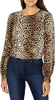 Amazon Brand - Lark & Ro Women's Long Blouson Sleeve Woven Blouse