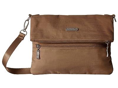 Baggallini Flip Zip Crossbody (Beach) Cross Body Handbags