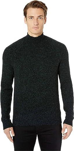 Marled Mock Neck Sweater