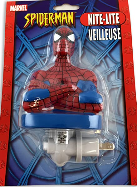 Marvel Spiderman Figural Night Light