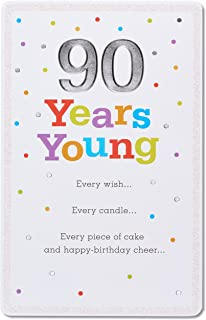 American Greetings 90th Birthday Card (90 Years Young)
