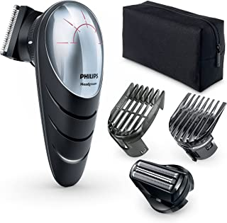 Philips QC5580 Hair Clipper With Head Shave attachment, 14 Built-in length Settings - Corded/Cordless