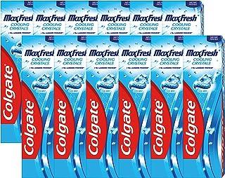 Colgate Tandpasta Max Fresh Cooling Crystals - 12 x 75ml - Voordeelverpakking