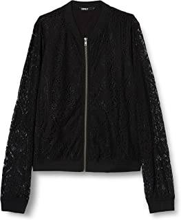 Only Onlmina L/S Lace Bomber Wvn Chaqueta para Mujer